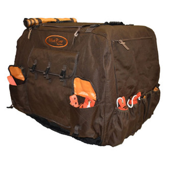 Dixie Kennel Cover - L - Brown