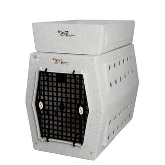 Singe Door Kennel - LG - White