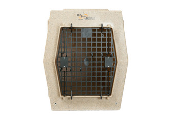 Single Door Kennel - XL - Tan