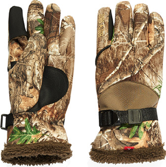 Hot Shot Gamestalker Gloves - Realtree Edge