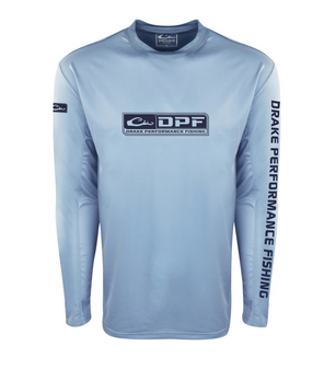 Drake Shield4 Arched Mesh Back Crew Long Sleeve