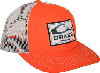 Square Patch Mesh Back Cap