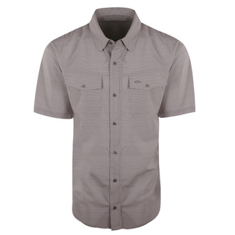 Drake Traveler's Check Shirt Short Sleeve
