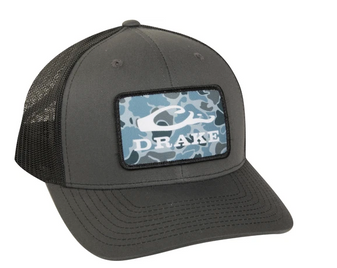 Old School Patch Mesh Back Cap