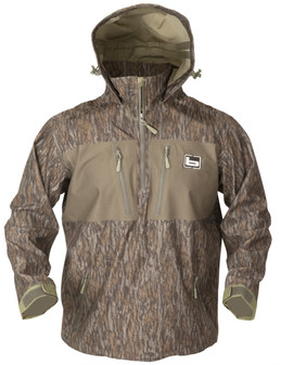 1/4 Zip WP Hooded Pullover - Bottomland