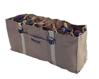 12-Slot Duck Decoy Bag, Brown