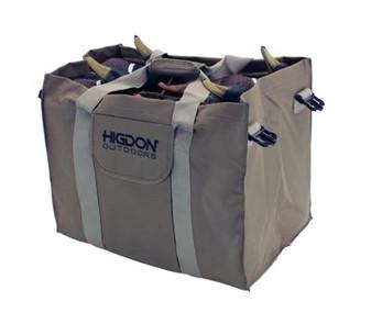 6-Slot Duck Decoy Bag, Brown