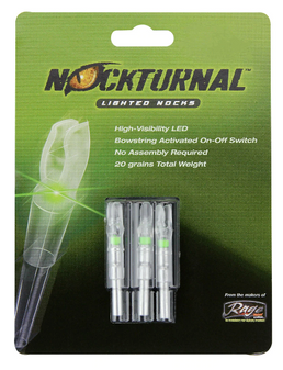 Nockturnal S - Green 3 Pack