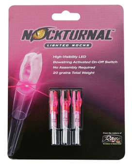 Nockturnal G - Pink - 3 Pack