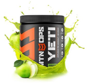 Yeti Pre Workout Green Apple