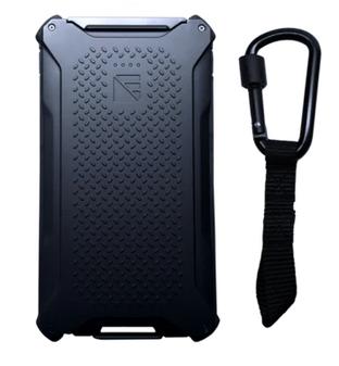 Poseidon 10,000mAh Portable Charger, Black & Black