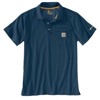 Force Cotton Delmont Pocket Polo