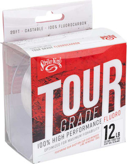 Tour Grade Fluorocarbon Line 200yd/15lb - Clear