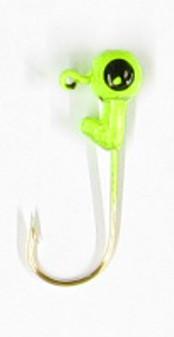 Jig Head - 1/16oz Chartreuse