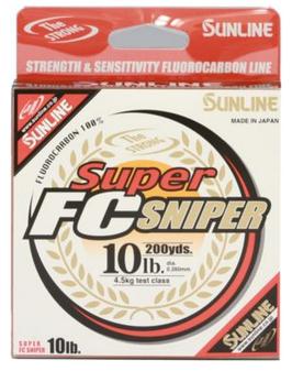 Super FC Sniper Fluorocarbon Line - 16lb/200yd