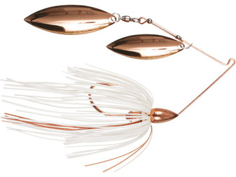 3/8oz Copper Double Willow Spinnerbait