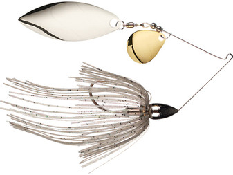 3/8oz Nickel Spinnerbait Colorado/Willow