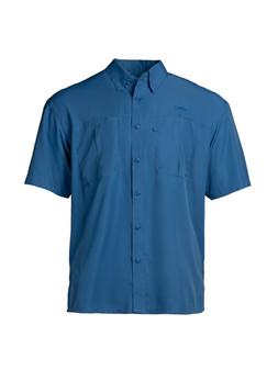 Intracoastal S/S Fishing Shirt - Blue