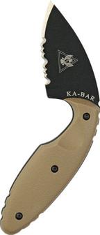 Original TDI Knife, Half-Serrated