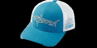 Ocearch Huddle Shark Trucker Hat - Costa Blue