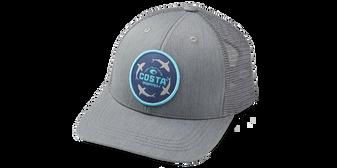 Ocearch Circle Shark Truck Hat - Gray