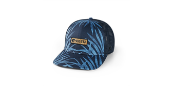 Coco Palms Trucker Hat - Blue