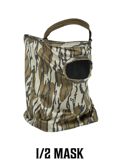 Stretch Fit 1/2 Face Mask - Bottomland