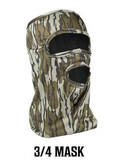 Stretch Fit 3/4 Face Mask - Bottomland