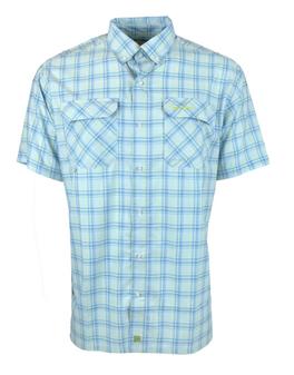 Boca Grande S/S Plaid Shirt