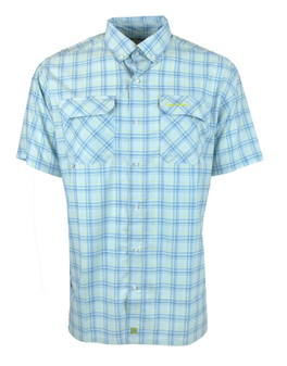 Boca Grande S/S Plaid Shirt  front