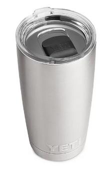 Rambler 20oz Tumbler w/MagSlider Lid - Stainless Steel
