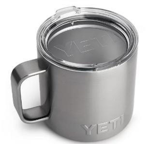Rambler 14oz Mug w/Standard Lid - Stainless Steel