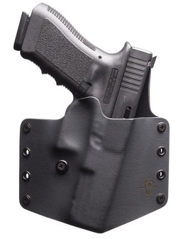 Standard Glock 19/23 Kydex Holster - Black
