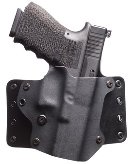 Sig P320 Leather Wing Holster - Black