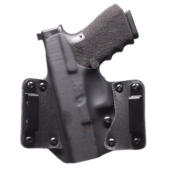 Sig P365 Leather Wing OWB Holster - Black