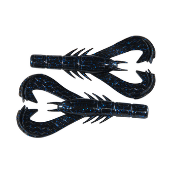 "4"" Krackin Craw Black/Blue Flake"
