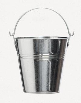 Galvanized Grease Bucket