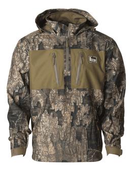 1/4 Zip Waterproof Hooded Pullover