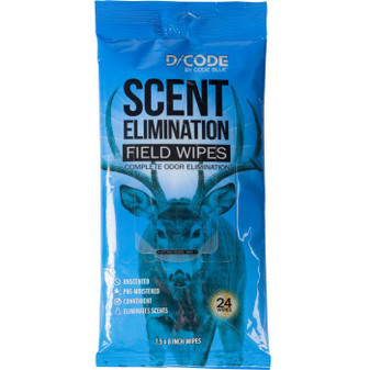 Scent Elimination Field Wipes