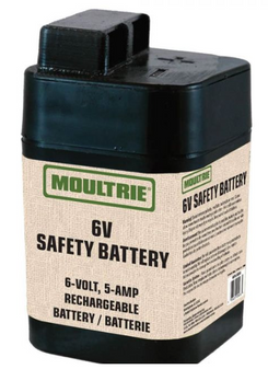 6V Battery with Safety Top