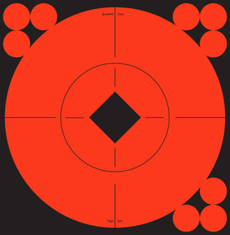 """6""""-120 Pasters Target Spots Targets - 10 Pack"""