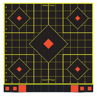"""Shoot-N-C 12"""" Sight In Target - 5 Pack"""