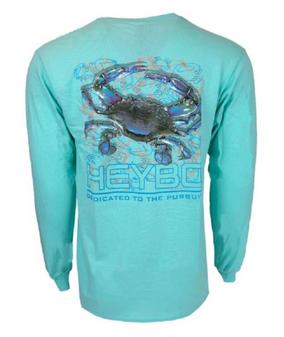 Blue Crab Reef Performance Tee