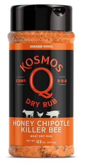 12.6oz Spicy Killer Bee Chipotle Honey Rub