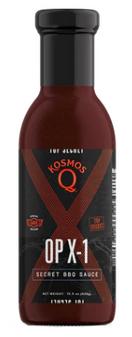 15.5oz OP X-1 BBQ Sauce