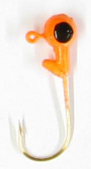 Jig Head - 1/8oz Orange