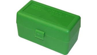 50 Round Case-Gard Ammo Box - Green