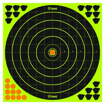 "12"" Round Splatter Target - 6 Pack"