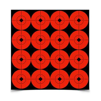 """1.5"""" Spot Targets - Orange"""