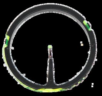 X-41 .019 Fiber Optic Ring Pin - Green